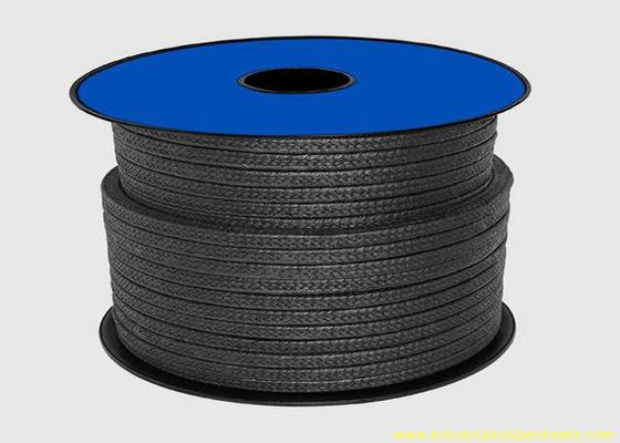 Trung Quốc Teflon PTFE đen Bao bì cho Niêm phong Vật liệu / Graphite Gland Packing Rope nhà phân phối